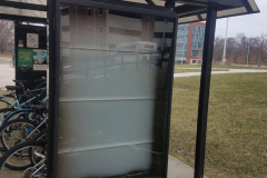 Safety Tempered Commercial Glass Replacement For Exterior Metal Structure - Fairfax, VA