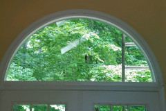 Residential Arch Radius Insulated Glass Unit Replacement With Low Emission Coating For UV & Heat Reduction
