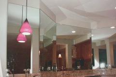Custom Master Bathroom Mirror Wall - Stafford, VA