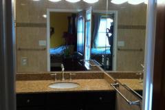 Custom Bathroom Mirror Installation - Alexandria, VA