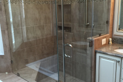 Frameless Shower Door and Panels - Alexandria, VA